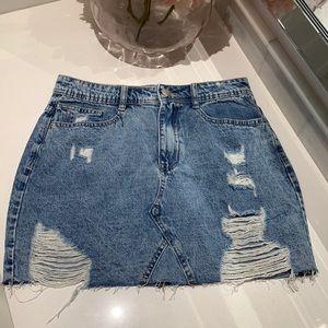 Streetwear Society jeans skirt